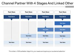 Channel Partner With 4 Stages And Linked Other
