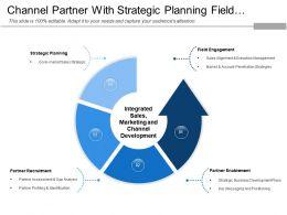 Channel Partner With Strategic Planning Field Engagement Partner
