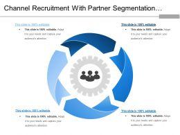 Channel Recruitment With Partner Segmentation Profiling Value Proposition