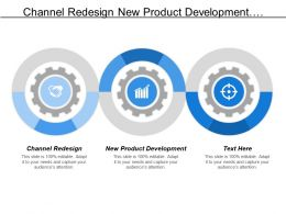 Channel Redesign New Product Development Product Line Acquisition