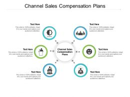 Channel Sales Compensation Plans Ppt Powerpoint Presentation Infographic Template Icons Cpb