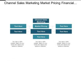 Channel Sales Marketing Market Pricing Financial Services Marketing Cpb