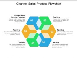 Channel Sales Process Flowchart Ppt Powerpoint Presentation Styles Brochure Cpb
