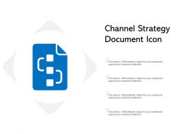 Channel Strategy Document Icon