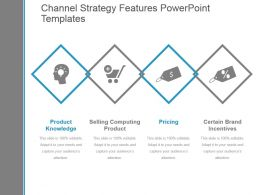 Channel Strategy Features Powerpoint Templates