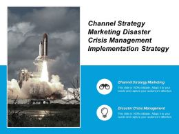 Channel Strategy Marketing Disaster Crisis Management Implementation Strategy Cpb