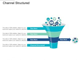 Channel Structured Ppt Powerpoint Presentation File Background Cpb