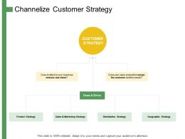 Channelize Customer Strategy Ppt Powerpoint Presentation Visual Aids Slides