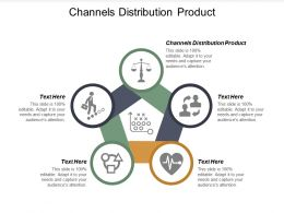 Channels Distribution Product Ppt Powerpoint Presentation Ideas Design Templates Cpb