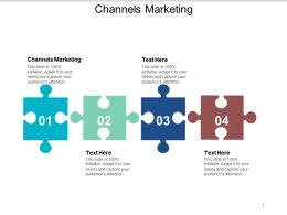 Channels Marketing Ppt Powerpoint Presentation Outline Samples Cpb