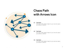 Chaos Business Problem Arrows Icon Theory Circles Direction Signboard Confusion