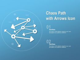 Chaos Path With Arrows Icon
