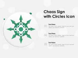Chaos Sign With Circles Icon
