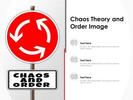 Chaos Theory And Order Image