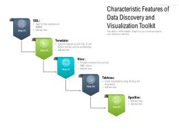 Characteristic Features Of Data Discovery And Visualization Toolkit