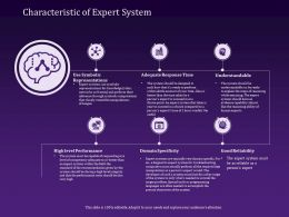 Characteristic Of Expert System Symbolic Powerpoint Presentation Aids