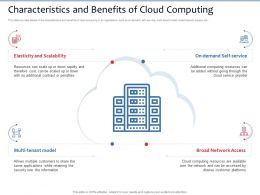 Characteristics And Benefits Of Cloud Computing Multi Tenant Ppt Powerpoint Presentation Inspiration