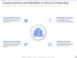 Characteristics And Benefits Of Cloud Computing Ppt Styles Master Slide