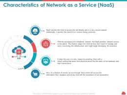 Characteristics Of Network As A Service Naas Protocols Ppt Powerpoint Tips
