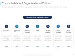 Characteristics Of Organizational Culture Leaders Guide To Corporate Culture Ppt Demonstration
