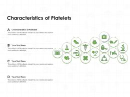 Characteristics Of Platelets Ppt Powerpoint Presentation Gallery Outfit