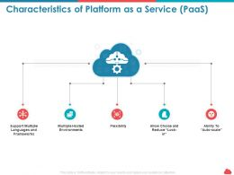 Characteristics Of Platform As A Service Paas Environments Ppt Microsoft
