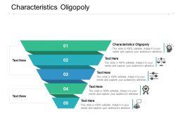 Characteristics Oligopoly Ppt Powerpoint Presentation Gallery Vector Cpb