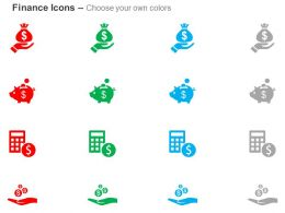 charity_financial_saving_calculator_and_dollar_sign_alms_ppt_icons_graphics_Slide02