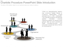 Charlotte Procedure Powerpoint Slide Introduction
