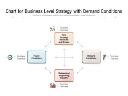Chart For Business Level Strategy With Demand Conditions