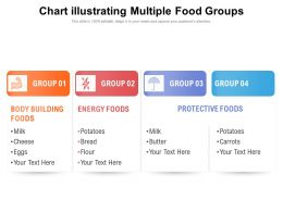 Chart Illustrating Multiple Food Groups