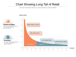 Chart Showing Long Tail Of Retail