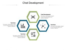 Chat Development Ppt Powerpoint Presentation Infographic Template Summary Cpb
