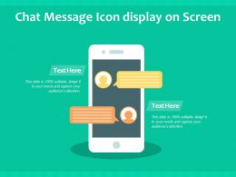 Chat Message Icon Display On Screen