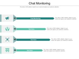 Chat Monitoring Ppt Powerpoint Presentation Outline Demonstration Cpb