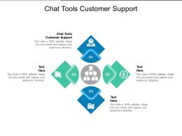 Chat Tools Customer Support Ppt Powerpoint Presentation File Example Topics Cpb