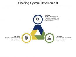 Chatting System Development Ppt PowerPoint Presentation Infographic Template Cpb