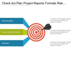 Check Act Plan Project Reports Formats Risk Management Plan Cpb