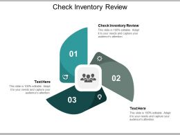 Check Inventory Review Ppt Powerpoint Presentation Gallery Samples Cpb