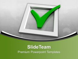 Check Mark Success Powerpoint Templates Ppt Themes And Graphics 0113