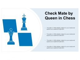 Check Mate By Queen In Chess