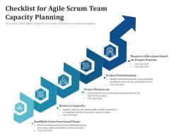 Checklist For Agile Scrum Team Capacity Planning