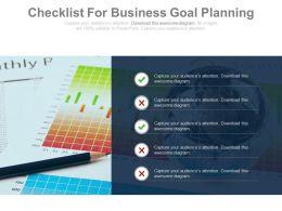 checklist_for_business_goal_planning_powerpoint_slides_Slide01