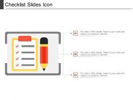 Checklist Slides Icon