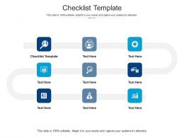 Checklist Template Ppt Powerpoint Presentation Inspiration Format Cpb