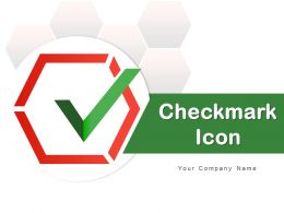 Checkmark Icon Inside A Circle Round Arrow Laptop Screen