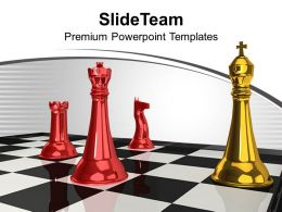 Checkmate Strategies Business Concept Powerpoint Templates Ppt Themes And Graphics 0113