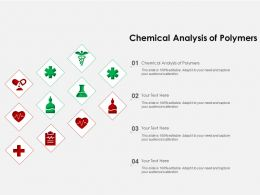 Chemical Analysis Of Polymers Ppt Powerpoint Presentation Model Graphics