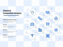 Chemical Composition Analysis Ppt Powerpoint Presentation Layouts Gridlines