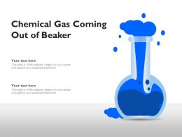 Chemical Gas Coming Out Of Beaker